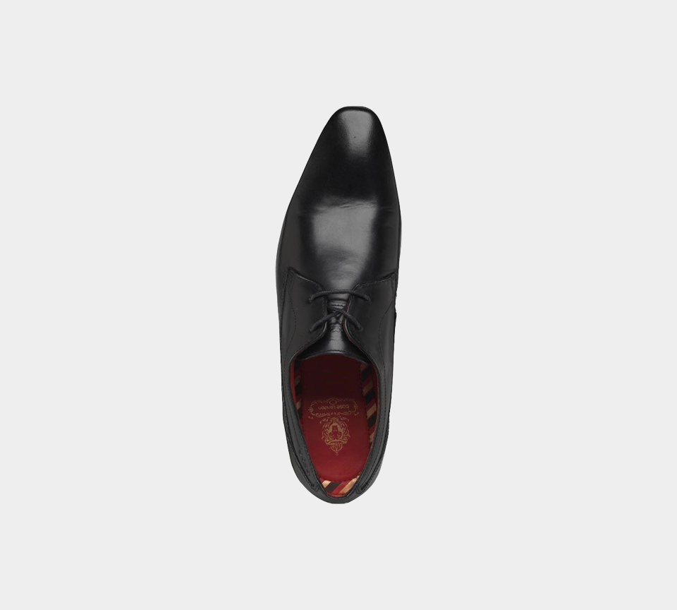 Base London Button PV03010 Waxy Black Mens UK 7-10