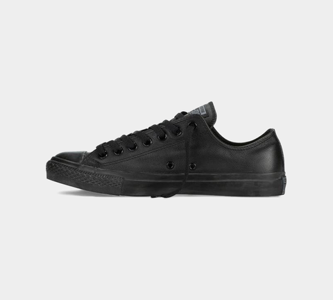 CONVERSE CTAS OX 135253C LEATHER BLACK MONO