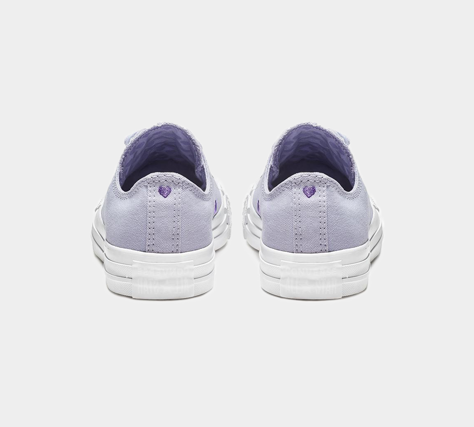 Converse CTAS OX 163284C Oxygen Purple/Washed Lilac Womens UK 3-8