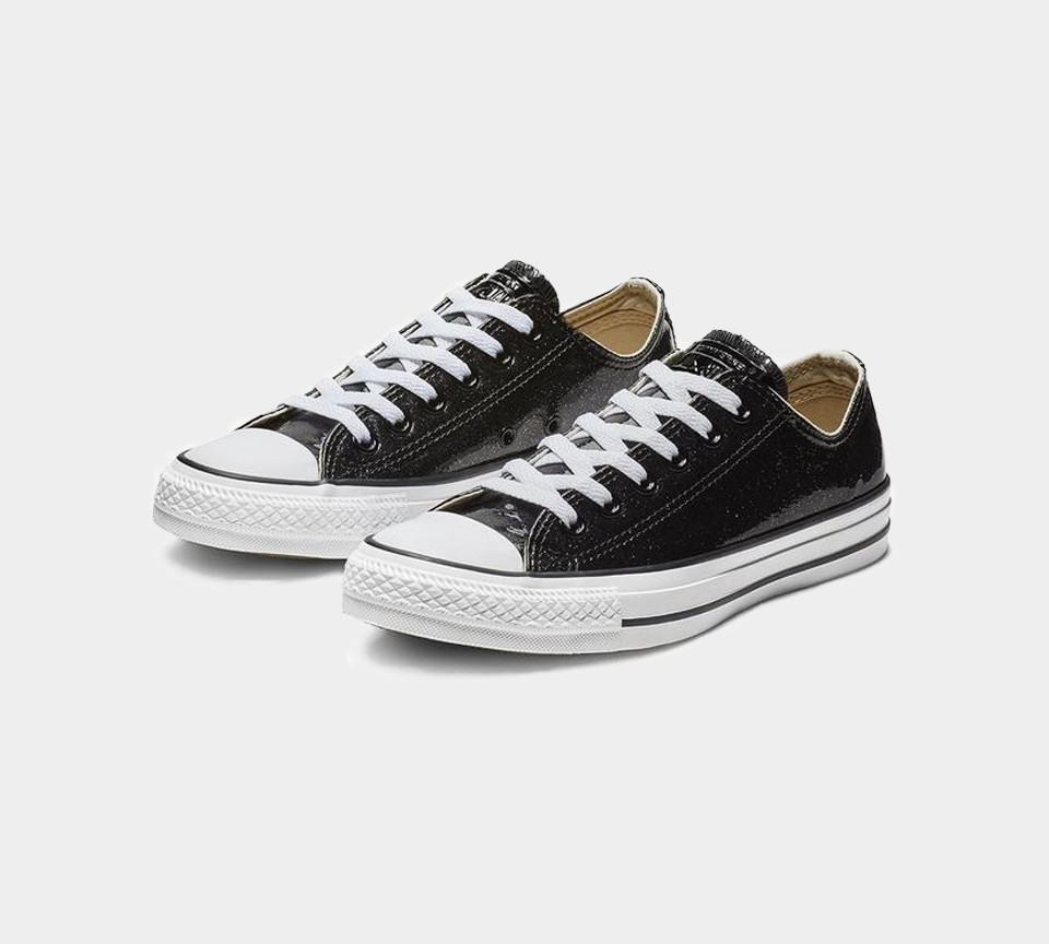 Converse CTAS OX 562482C Black Uk 3-8