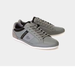 Lacoste Chaymon Tonal Nappa Leather & Suede Trainers