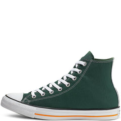 Converse CTAS HI 164412C Green/Orange Womens UK 3-8