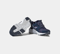 NIKE HUARACHE RUN (GS) NAVY 654275 411 CHILDREN'S UK 3-6