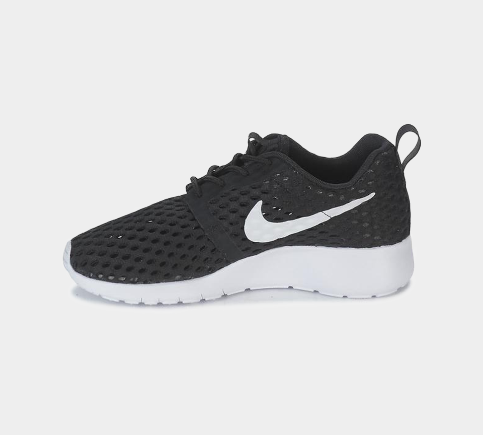 NIKE ROSHE ONE FLIGHT WEIGHT BLACK/WHITE 705485 008