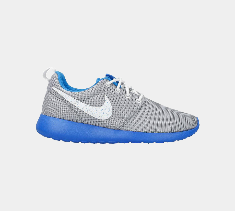NIKE ROSHERUN (GS) GREY/BLUE/WHITE 599728 019