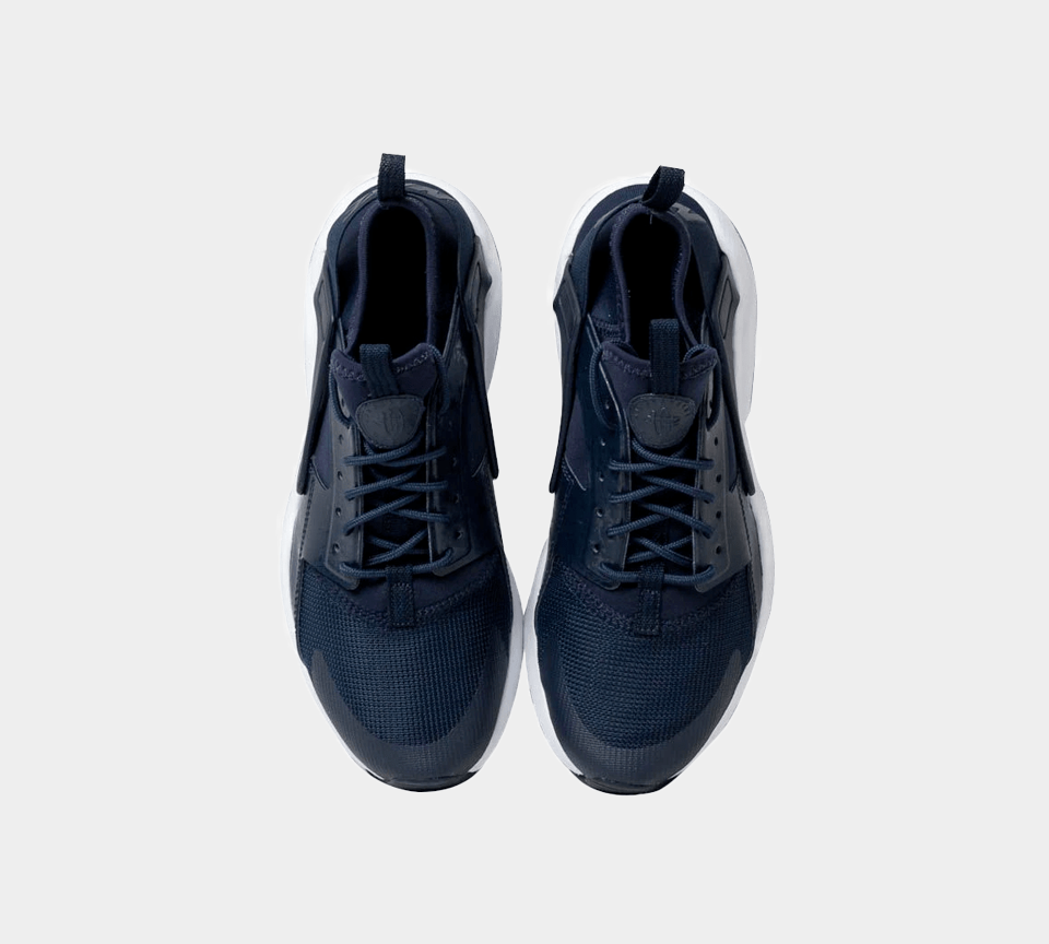 Nike Air Huarache Run Ultra 847569 412 Juniors Navy UK 3-6