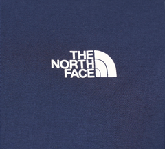 The North Face Simple Dome Cotton Logo Sports T-Shirt Top - Navy