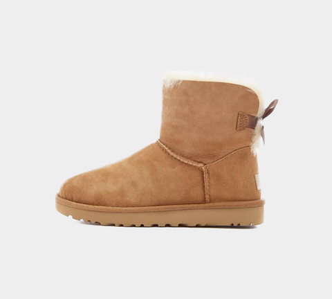 UGG MINI BAILEY BOW II BOOT CHESTNUT