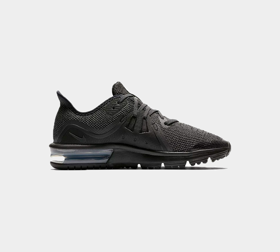 NIKE AIR MAX SEQUENT 3 (GS) 922884 007 Black Boys UK 3-6