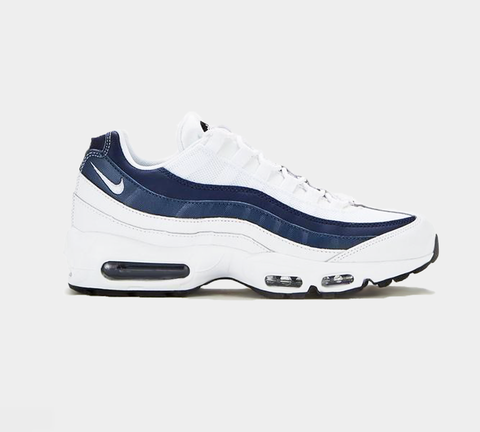 Nike Air Max 95 Essential 749766 114 White/White/Midnight Navy UK 6-11