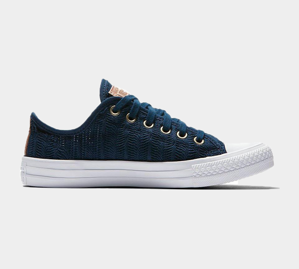 Converse CTAS OX Navy/Tan/White 560632C