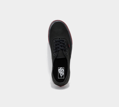 VANS AUTHENTIC FLAME PACK TRAINERS BLACK