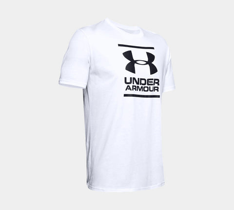 Under Armour GL Foundation Short Sleeve T-Shirt White