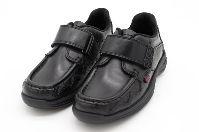 Kickers Reasan Sawrus Infant Shoes Black UK 12.5-1.5