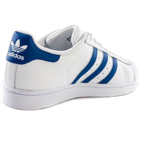 Adidas Superstar S74944 White/Blue Junior's