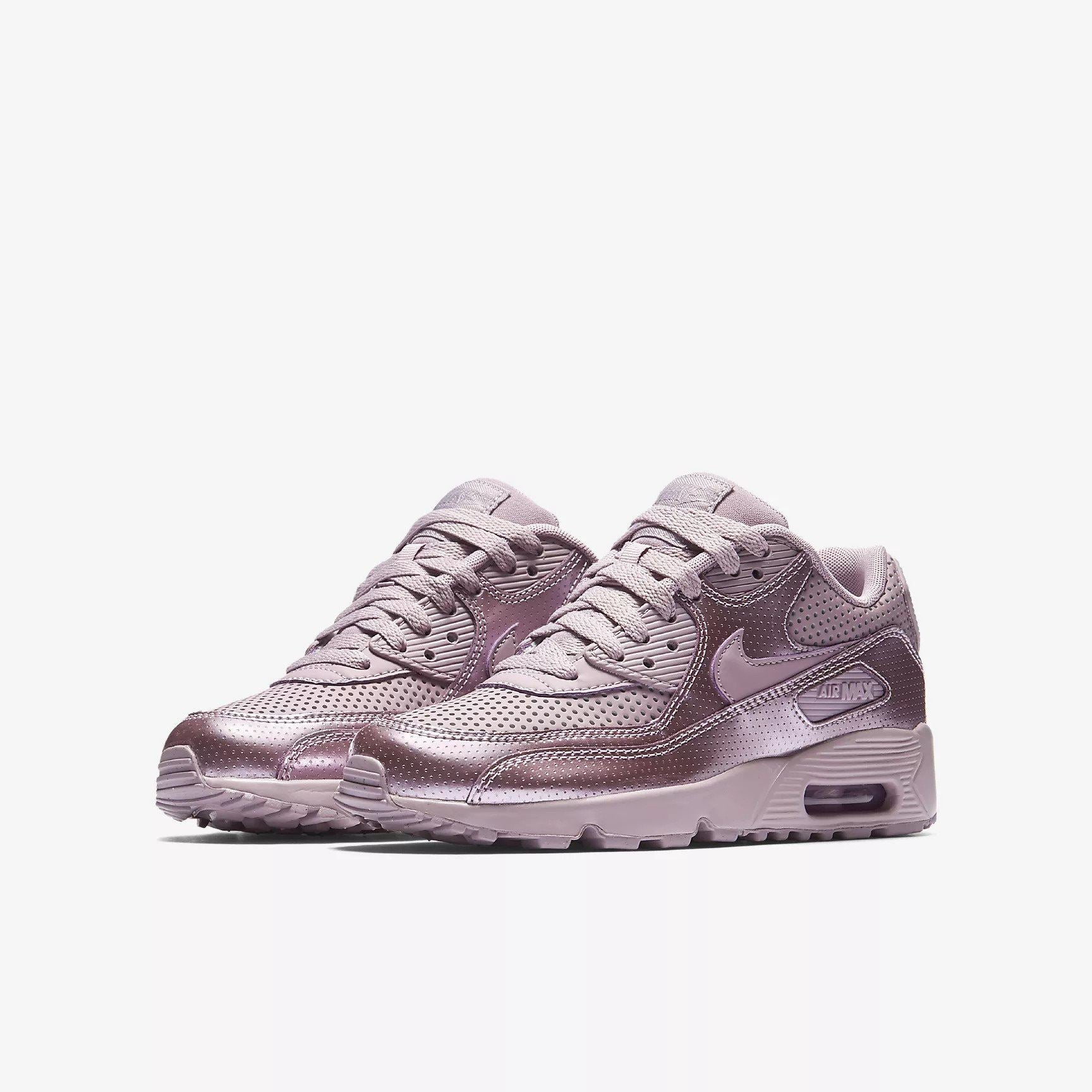 new style 5a1f9 379af Nike Air Max 90 SE LTR (GS) Elemental Rose 859633 600