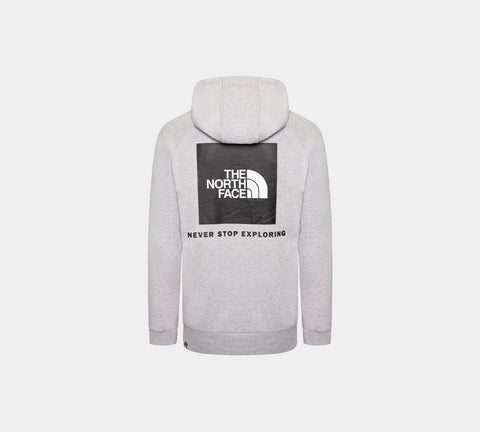 The North Face Men's Raglan Redbox NF0A2ZWUDYX1 Hoodie Light Grey Heath