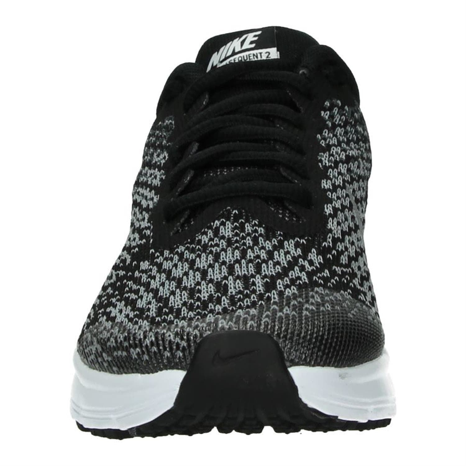 new products 966b0 9a0f1 Nike Air Max Sequent 2 Juniors GS 869993 001 Black Silver
