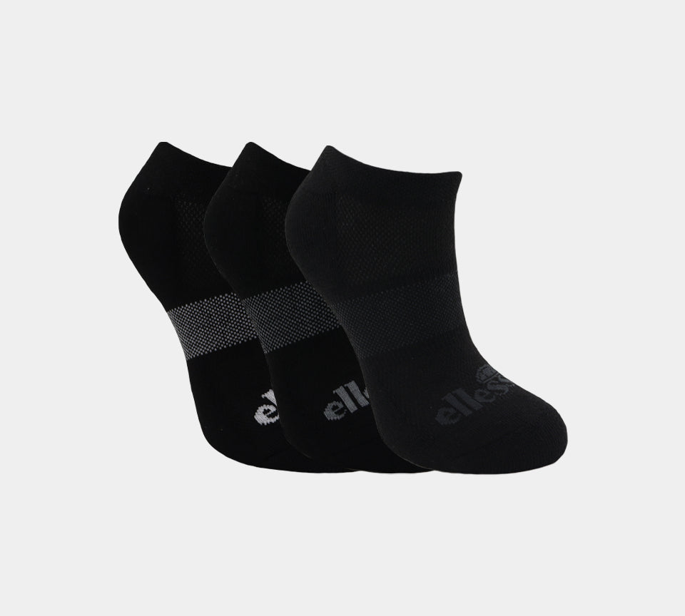 Womens Ellesse LSHEL541STL Socks 3P UK 4-8