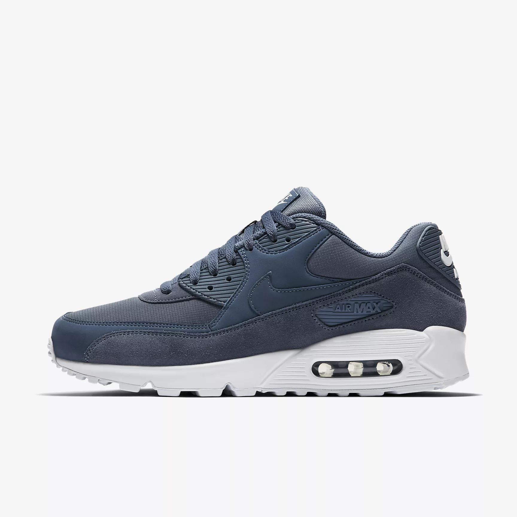 the latest 92601 7fe83 Nike Air Max 90 Essential AJ1285 400 Diffused Blue