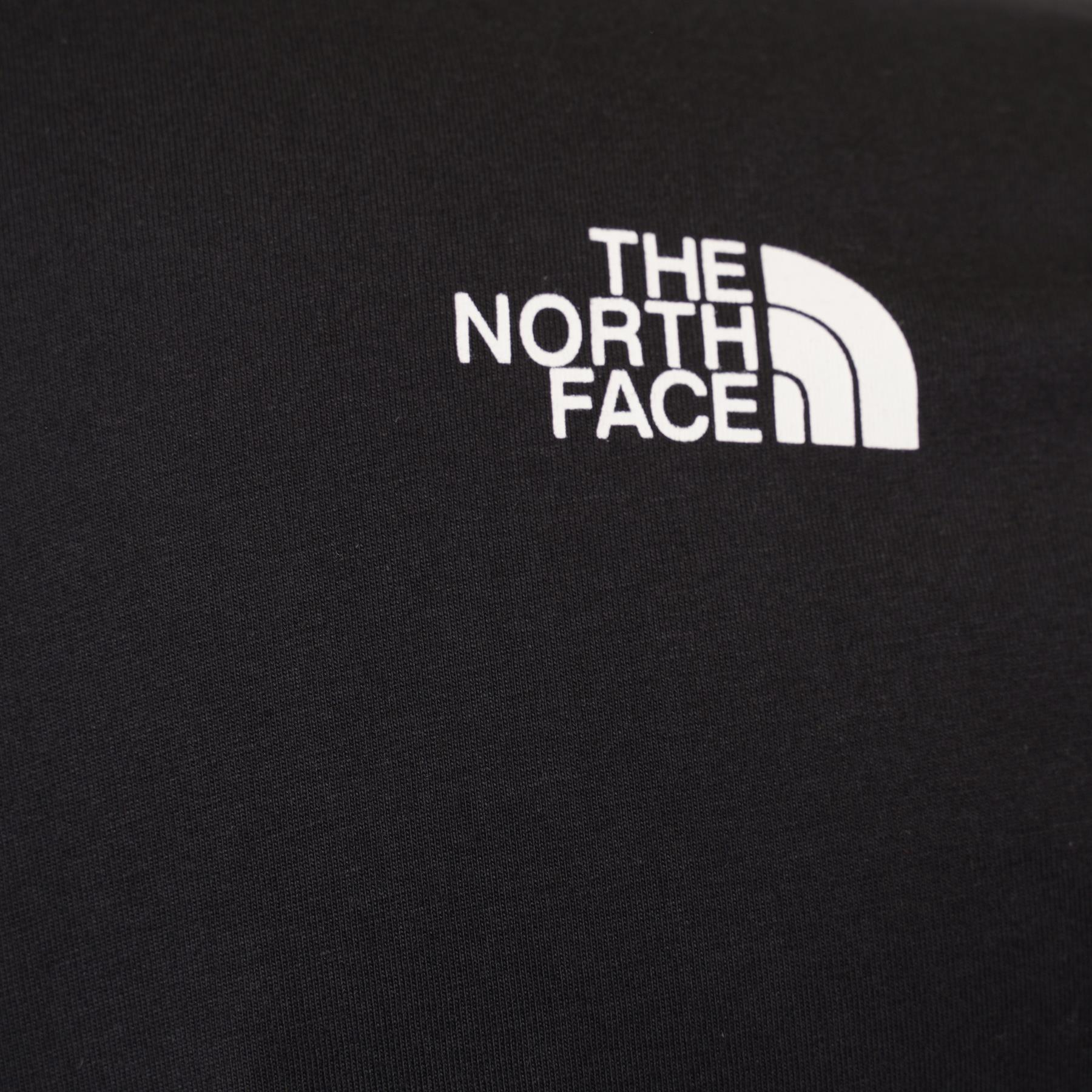 The North Face Simple Dome Cotton Logo Sports T-Shirt Top - Black