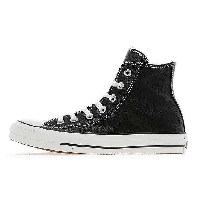 CONVERSE CT ALL STAR 132170C HIGH TOP LEATHER TRAINERS BLACK