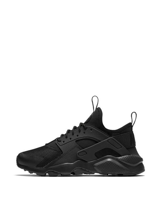 Nike Air Huarache Run Ultra Juniors 847569 004 Black UK 3.5-6