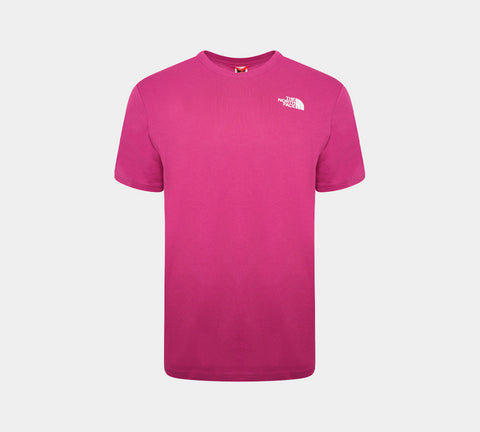 The North Face Red Box Logo Tee Aster Purple