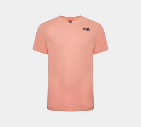 The North Face Back Box Logo Tee Pink