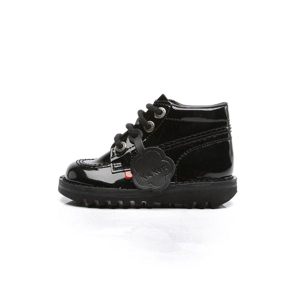Kickers Kick Hi Infants Patent 1KF0000408BXW UK 12 EU 30