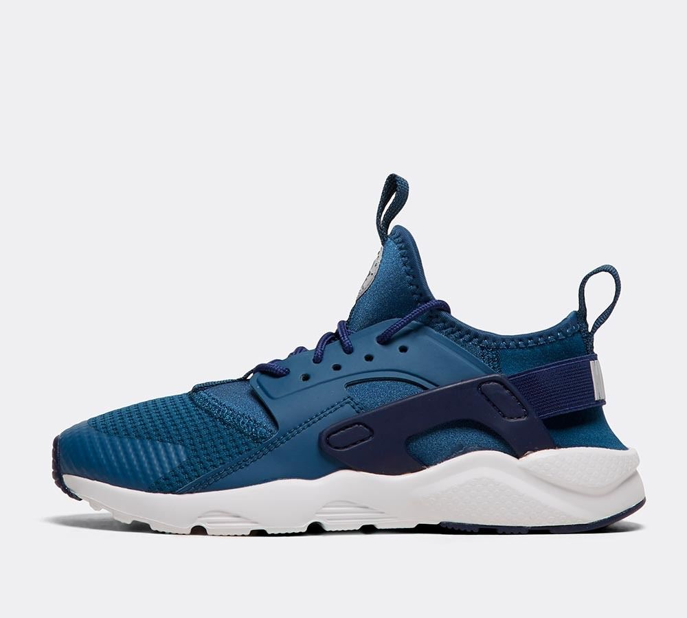 Nike Air Huarache Run Ultra GS 847569 411 Blue UK 3-6 – ViviFashion 9186a48b7d6