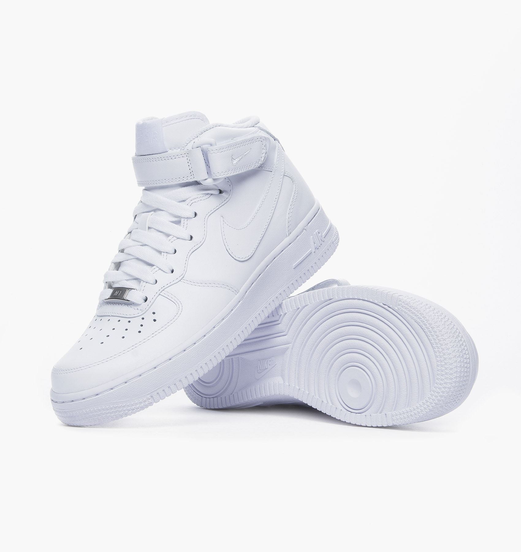 NIKE AIR FORCE 1 MID '07 LEATHER 366731 100 WO