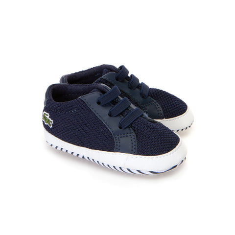 Lacoste Babies' L.12.12 Crib  Trainers 7-36CAB0001092 Navy Boys UK 0-2