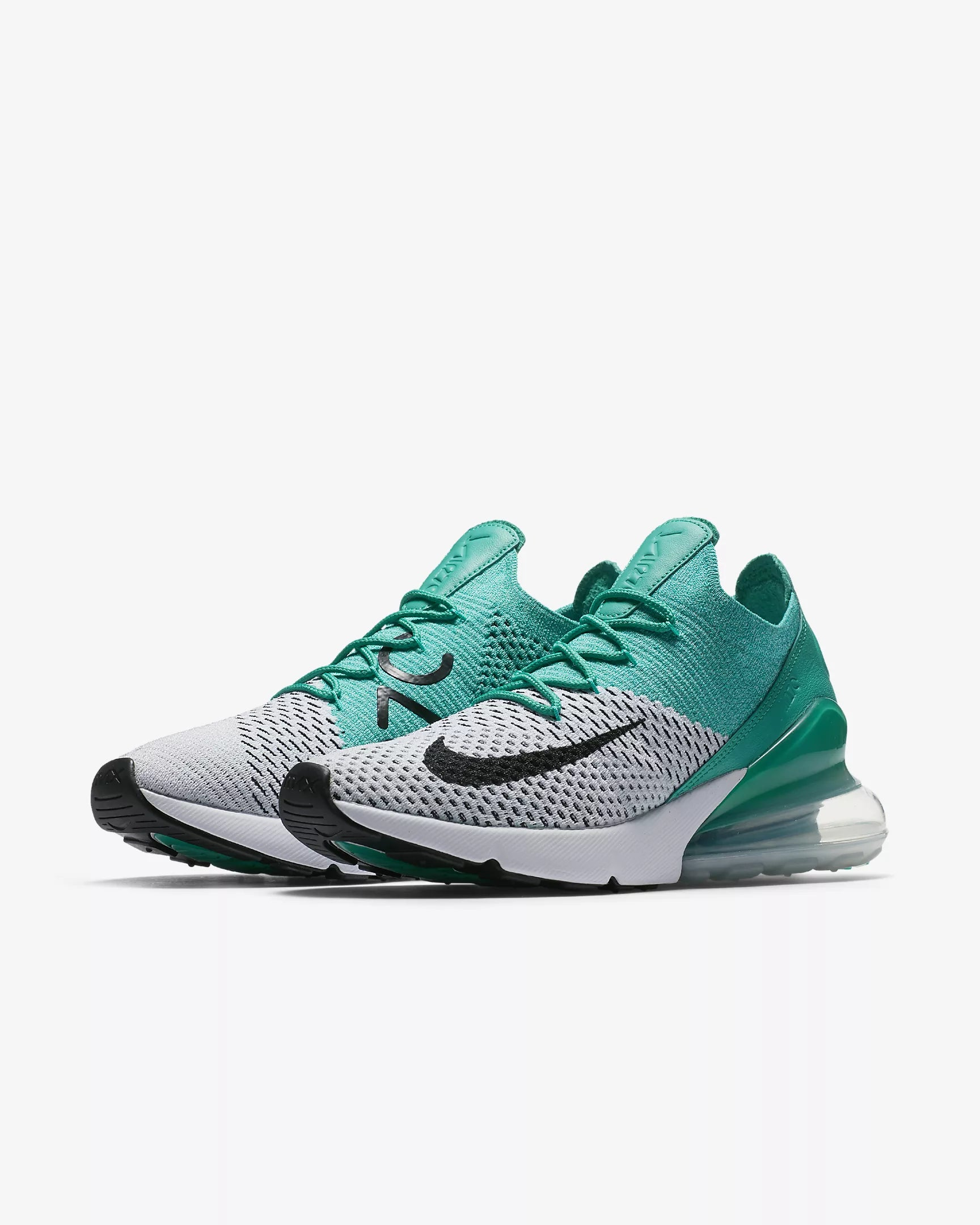 nike air max 270 flyknit turquoise