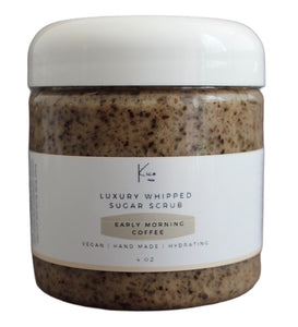 Early Morning Coffee Luxury Sugar Scrub ☕️
