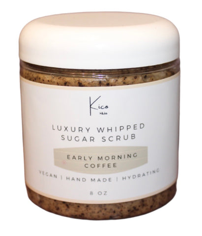 Early Morning Coffee Sugar Scrub