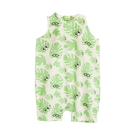 Leaf Vest Playsuit