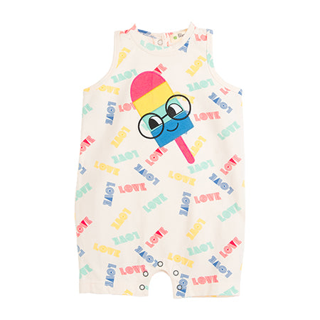 Ice Lolly Vest Playsuit