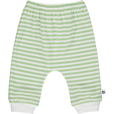 Green Striped Joggers