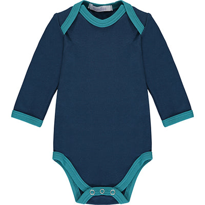 Navy Long Sleeve Bodysuit