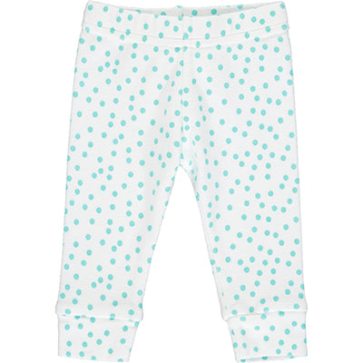 Mint Polka Dot Leggings