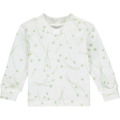 Green Star Pyjama Top