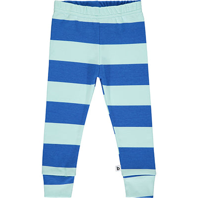 Aqua Striped Pyjama Bottoms