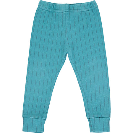 Teal Striped Pyjama Bottoms