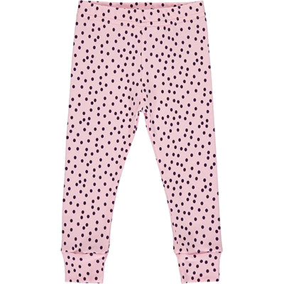 Pink Polka Dot Pyjama Bottoms