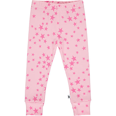Pink Star Print Pyjama Bottoms