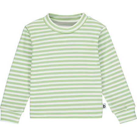 Green Striped Pyjama Top