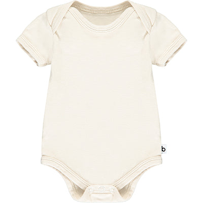Oatmeal Short Sleeve Bodysuit