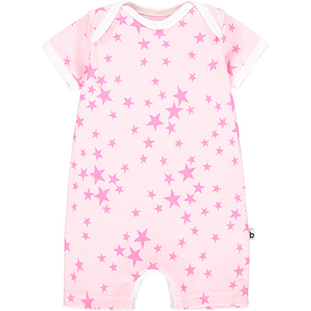 Pink Star Shortie Romper