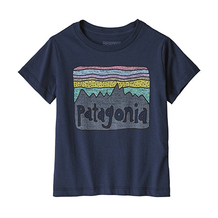 Baby Fitz Roy Navy Skies T-Shirt